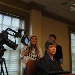 Judge Catherine presiding